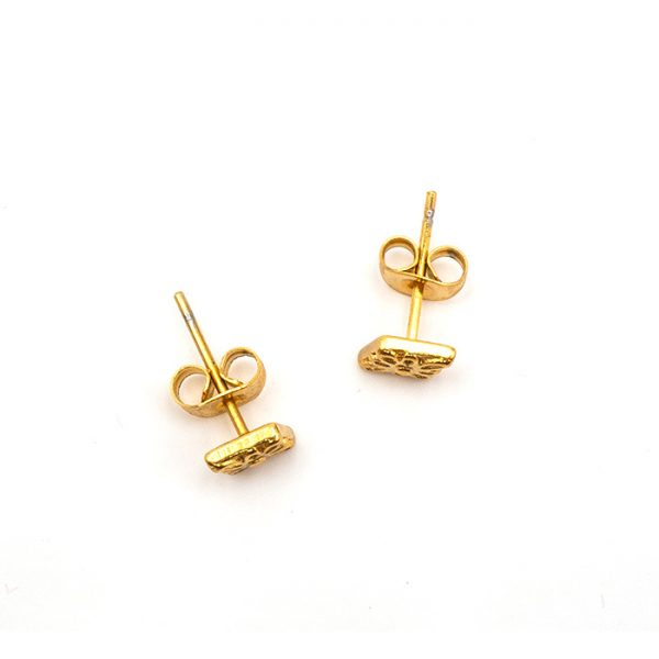 Ohrring Peru gold zwei