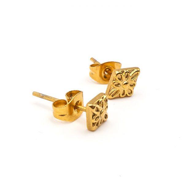 Ohrring Peru gold